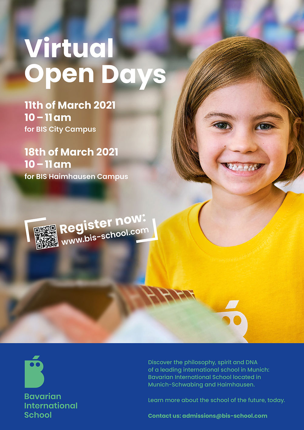 Bavarian International School Virtual Open Days