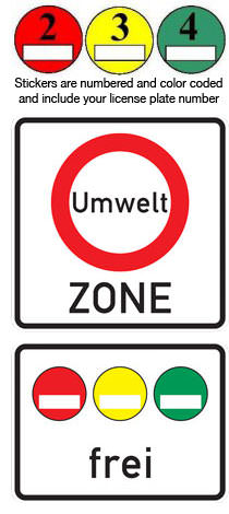 Remove Sticker From Windshield >> How To Germany - Environmental Zones in Germany